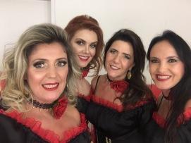 Suzana, Lisley, Ana e Luciane