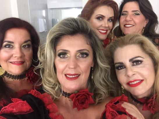 Lu Avila, Suzana, Doris, Lisley e Ana